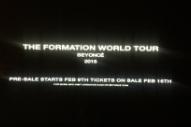 Beyoncé Announces 'Formation World Tour' After Jaw-Dropping Super Bowl Halftime Show