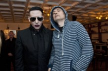 SiriusXM's Town Hall With Marilyn Manson And Billy Corgan