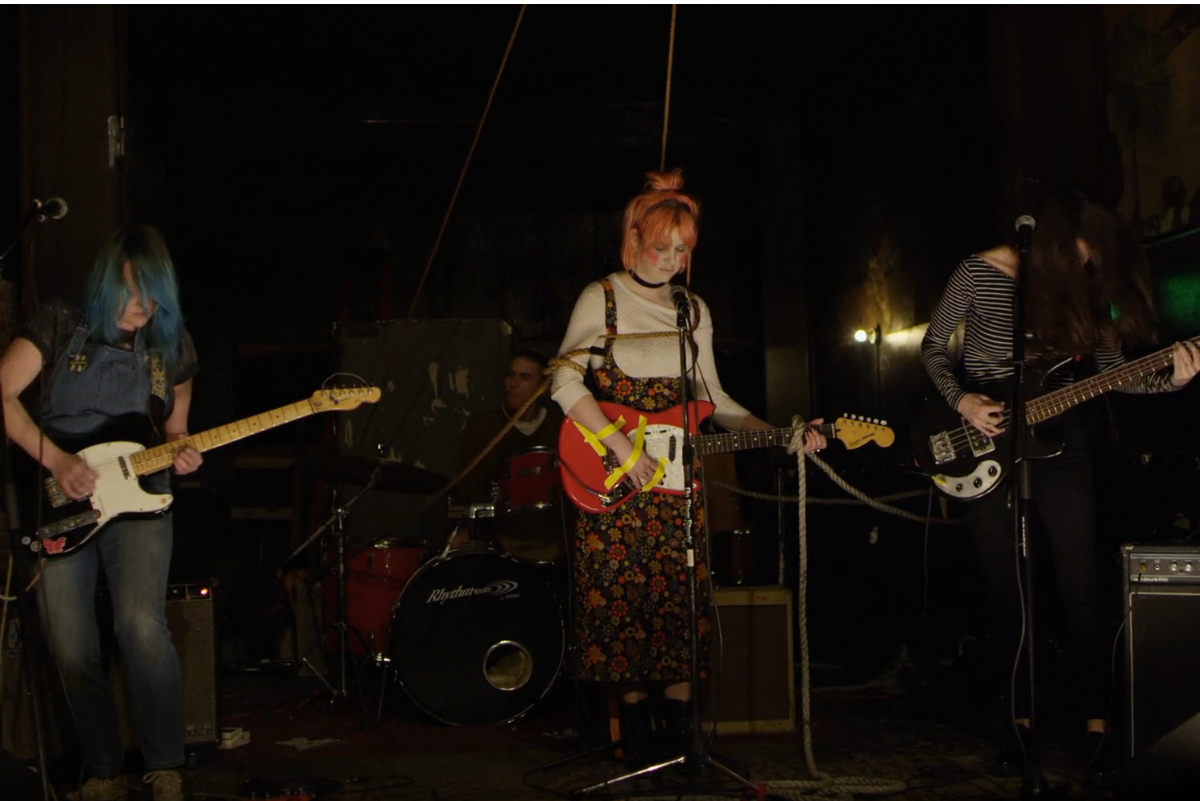 bleached new single video wednesday night melody welcome the worms