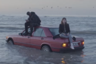 Christine and the Queens Sink a Car in the Ocean for 'Here' Video