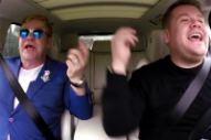 Sir Elton John Schools James Corden on 'Tiny Dancer' in 'Carpool Karaoke'