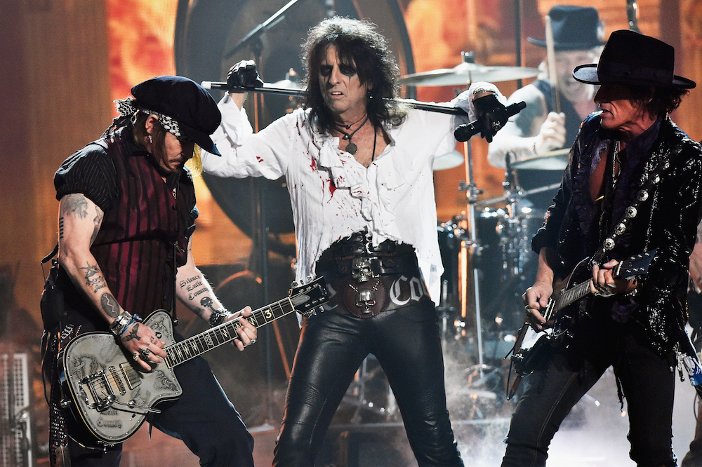 The impact of the band alice cooper on rock music and culture