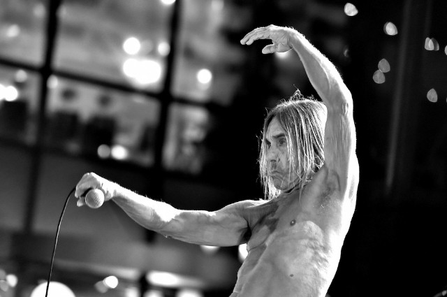 Iggy Pop Performs At The Premiere Of STARZ's