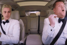 justin bieber, james corden, carpool karaoke