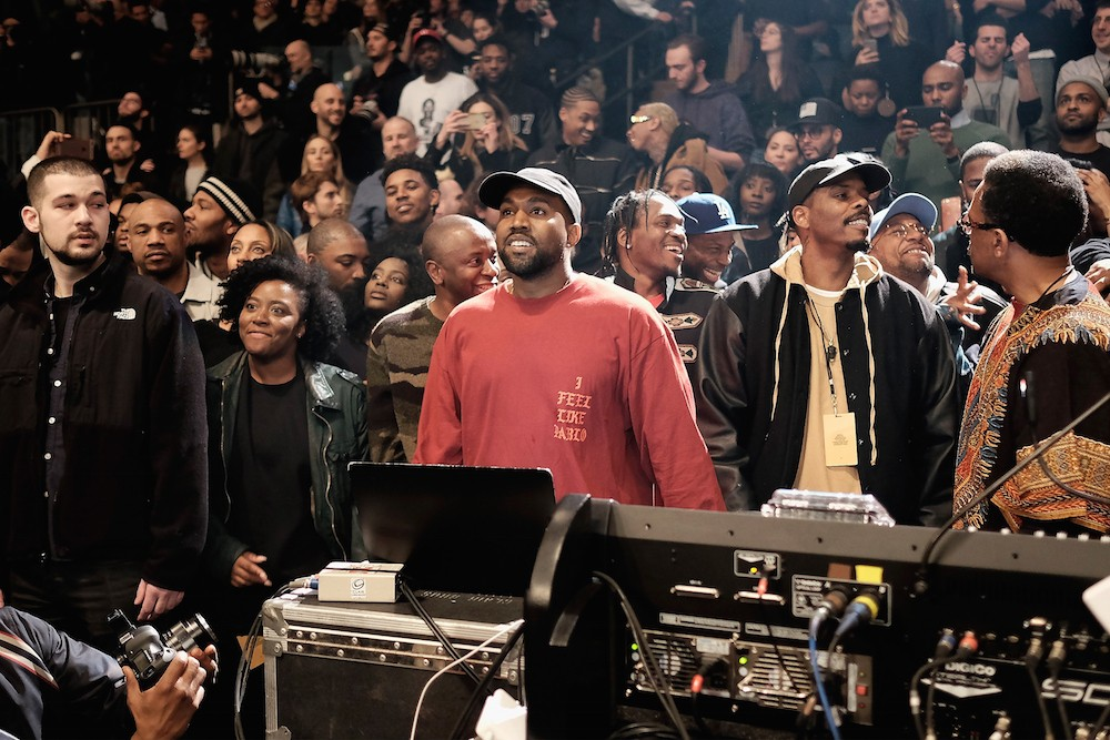 Here s what you missed inside kanye west s yeezy season 3 show yesterday spin for Madison square garden kanye west