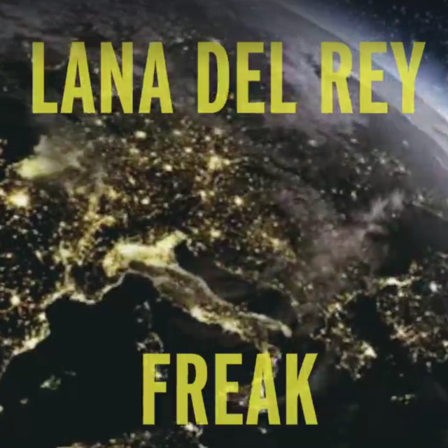 lana del rey, father john misty, freak, video