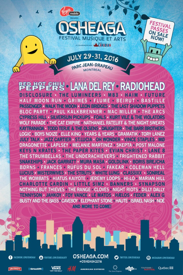 radiohead-red-hot-chili-peppers-and-lana-del-rey-headline-osheaga-festival-2016-lineup-complete-poster
