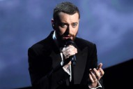Sam Smith Wins Best Original Song at the 2016 Oscars for 'Writing's on the Wall'