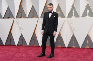 Sam Smith Performed 'Writing's On the Wall' at the 2016 Oscars