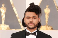 The Weeknd Croons His Way Through 'Earned It' at the Academy Awards