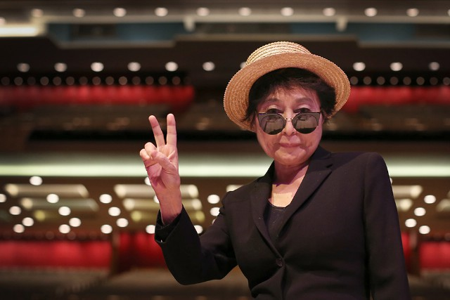 Yoko Ono Launches Her Meltdown Festival