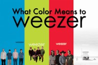 Blue Albums and Pink Triangles: What Color Means to Weezer