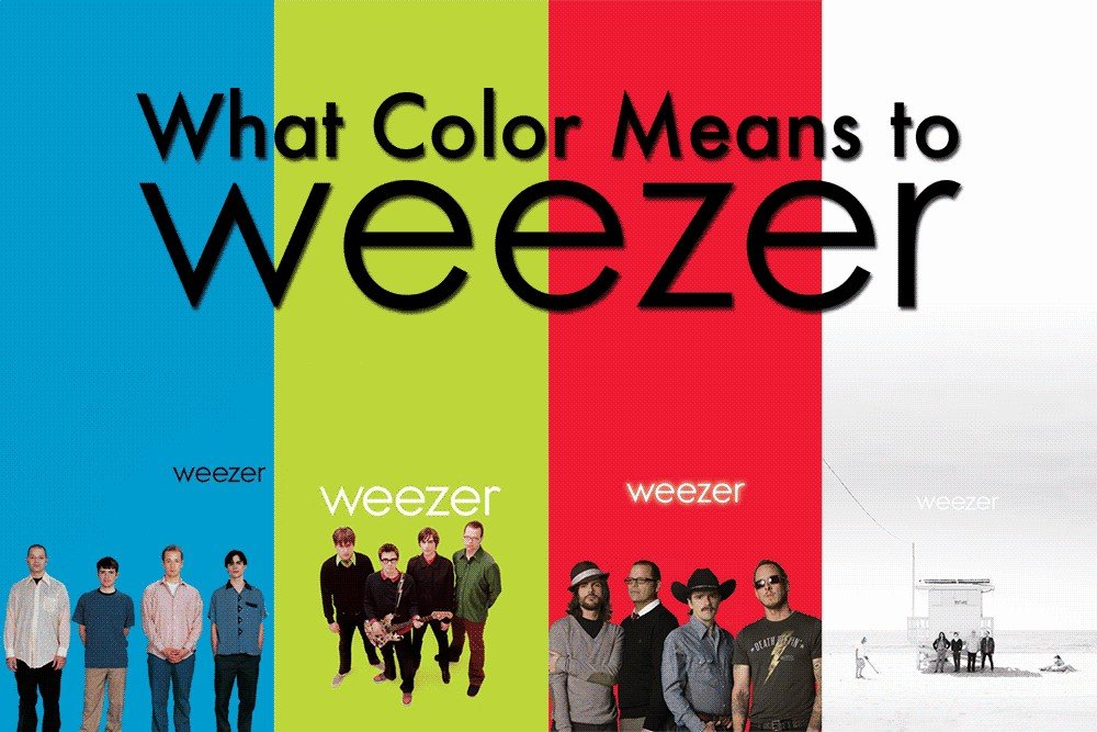 What Color Means to Weezer