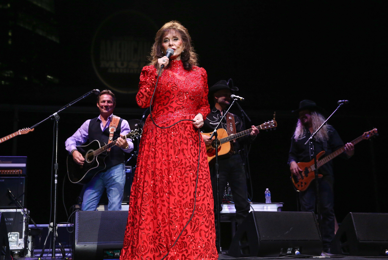 Loretta Lynn at the 16th Annual Americana Music Festival