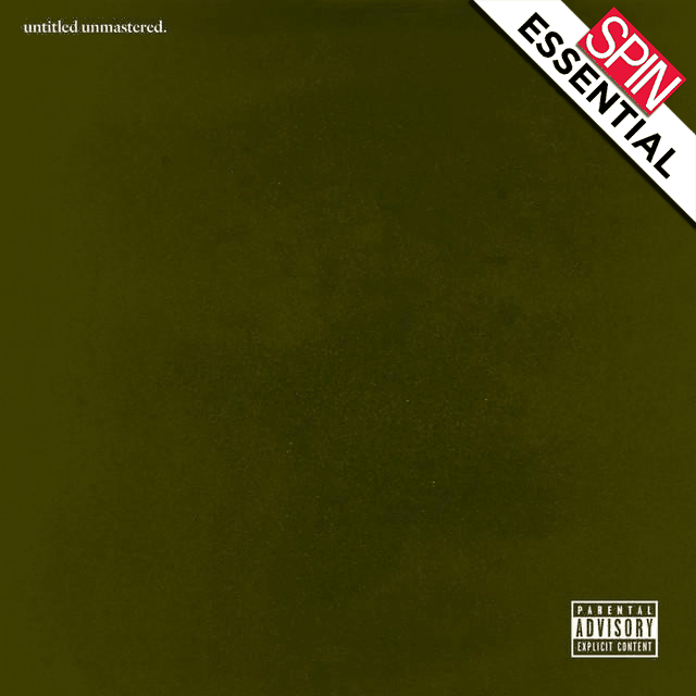 Kendrick Lamar's untitled unmastered.