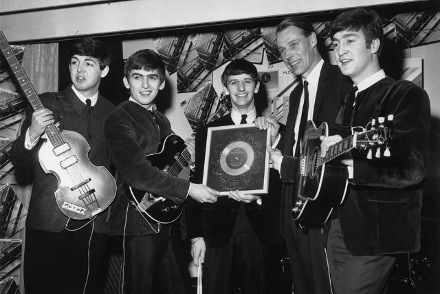 George Martin With the Beatles