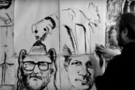 There Are Some Really, Really Weird Drawings in EL VY's 'It's a Game' Video