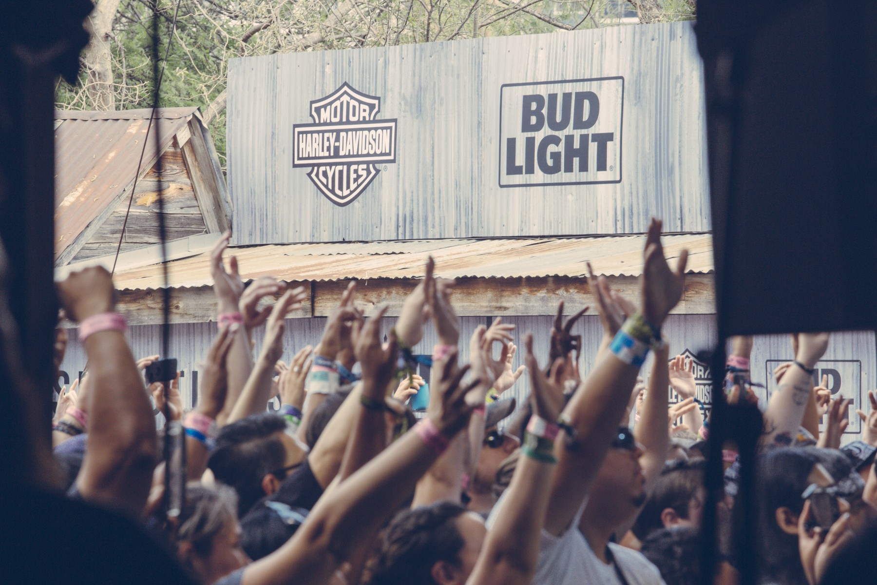 The crowd at Stubb's, March 18, 2016
