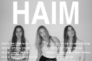 HAIM Announce 2016 North American Tour