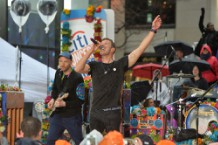 Coldplay Performs On NBC's