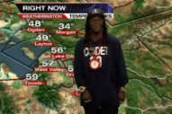 Here's Flavor Flav Giving the Weather Report for Salt Lake City
