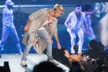 Justin Bieber and Chance the Rapper Performed 'Confident' Together Last Night