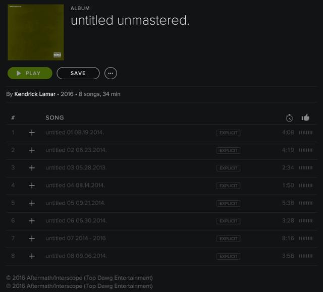 kendrick-lamar-untitled-unmastered-surprise-new-album-leak