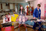 Kero Kero Bonito Splash Themselves in Laugh Tracked-Pastels in 'Lipslap' Video
