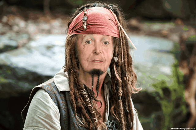 Image result for paul mccartney pirate caribbean