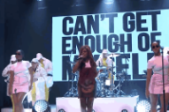 Santigold Just Can't Get Enough of Herself on 'The Tonight Show'