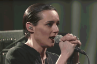Savages Dominate 'Colbert' With Crackling Performance of 'Adore'
