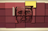 Hot Chip's Alexis Taylor is a 3D Mondrian Landscape In Shit Robot's 'End Of the Trail' Video