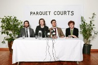 Parquet Courts Take a Short Trip 'Outside'