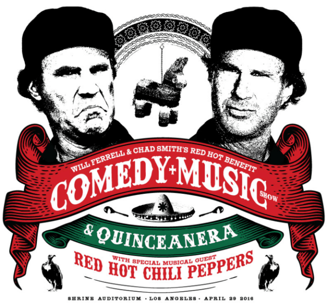 will-ferrell-red-hot-chili-peppers-chad-smith-benefit-concert-los-angeles-quinceanera