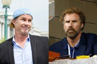 Chad Smith and Will Ferrell Make Drumming a Team Sport at Red Hot Benefit Gig