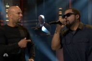 New BFFs Ice Cube and Common Perform Together on 'The Tonight Show'