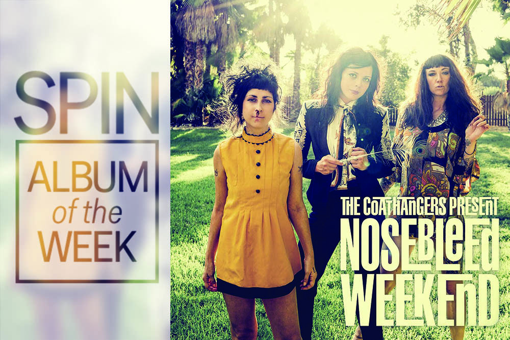 Review: The Coathangers, 'Nosebleed Weekend'