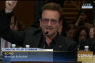 Bono to U.S. Senate: Send Amy Schumer, Chris Rock, and Sacha Baron Cohen to Defeat ISIS