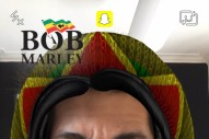 Snapchat Celebrates 4/20 With a Blackface Bob Marley Filter