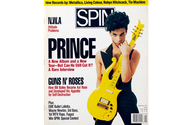 prince, spin, 1991 cover story