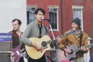 Vampire Weekend Perform as a Trio for the First Time at New York Bernie Sanders Rally