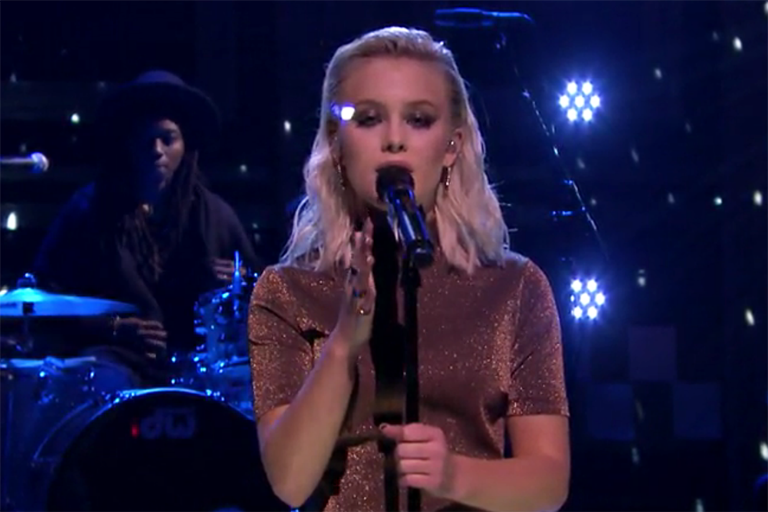 Zara Larsson Tonight Show