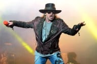Axl Rose Broke His Foot, Will Perform Guns N' Roses Reunion Shows in a Cast