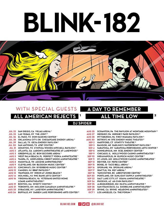 Song Lineup For Blink  Concert Tour