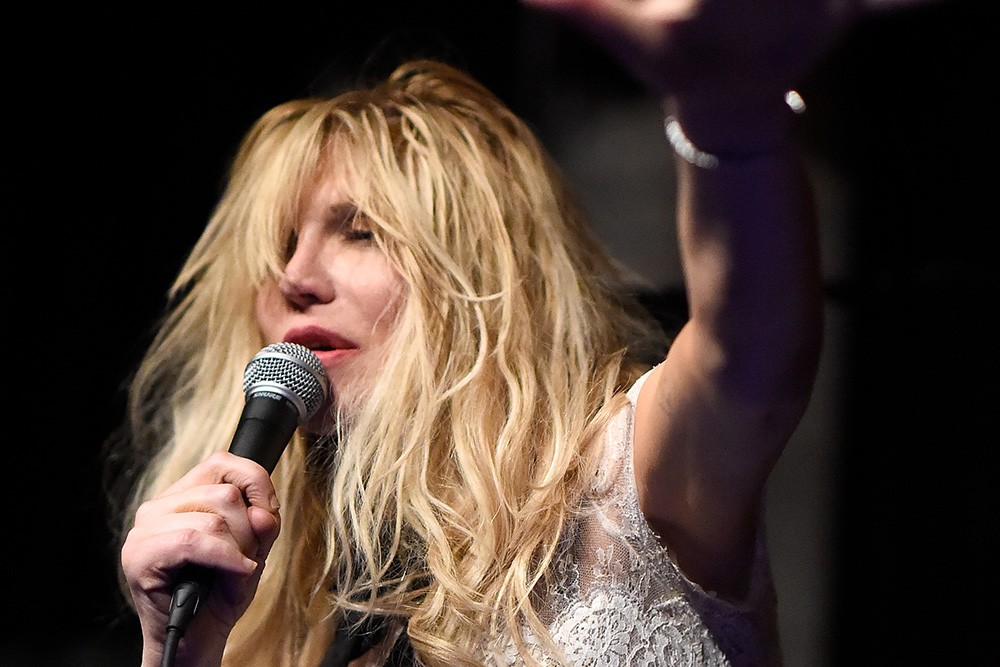 Courtney Love Reportedly Kicked Out Of Coachella