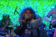 The Flaming Lips Bring 'Space Oddity,' Chewbacca to the 'Late Show'