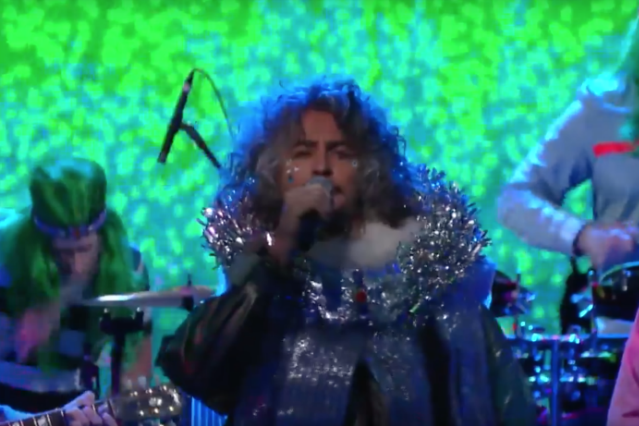 flaming-lips-space-oddity-live-feat-chewbacca-late-show-video-watch