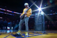 Watch Flea's Bass-Only Rendition of the National Anthem at Kobe Bryant's Last Game