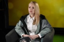 Iggy Azalea Visits Music Choice