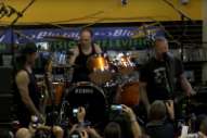 Here's Metallica's Entire, Super-Small Record Store Day Gig